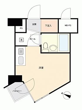区分マンション-札幌市中央区大通西26丁目 間取り