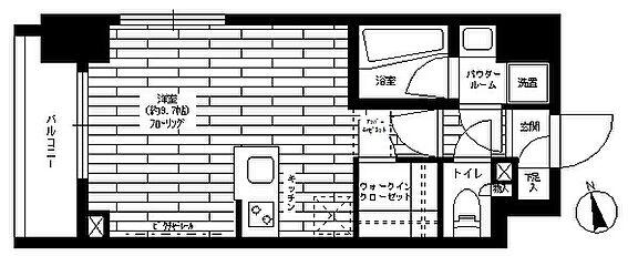マンション(建物一部)-世田谷区瀬田3丁目 間取り