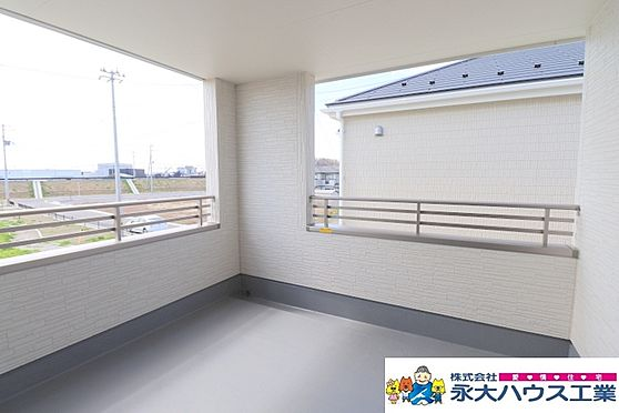 新築一戸建て-石巻市大門町2丁目 バルコニー