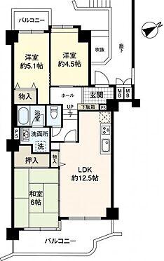 マンション(建物一部)-岸和田市極楽寺町 間取り 3LDK