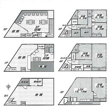 ビル(建物全部)-渋谷区千駄ヶ谷4丁目 間取り