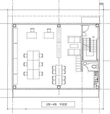 土地-府中市浅間町2丁目 参考プラン-2f〜4f