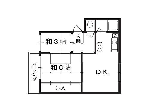 マンション(建物全部)-京都市東山区今熊野南日吉町 間取り
