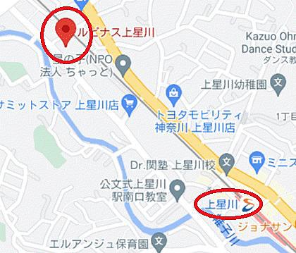 マンション(建物一部)-横浜市保土ケ谷区上星川3丁目 地図