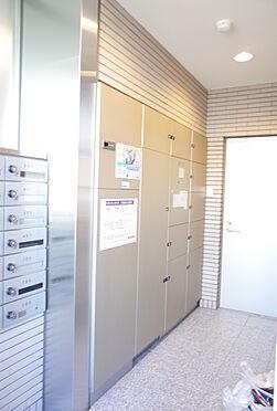 中古マンション-静岡市葵区大岩1丁目 不在時に便利な宅配ボックス