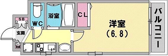マンション(建物一部)-神戸市兵庫区湊町2丁目 間取り