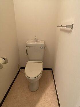 中古マンション-伊東市八幡野 【トイレ】保温のみ、ウォシュレット取り付け可能です。