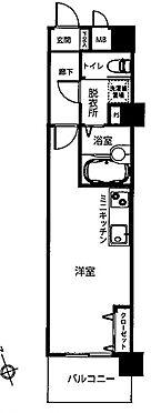中古マンション-横浜市鶴見区鶴見1丁目 間取り