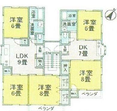 アパート-横浜市港北区篠原東1丁目 間取り