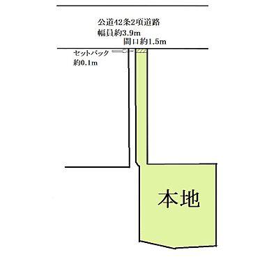 アパート-目黒区五本木2丁目 地形図