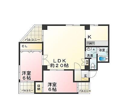 マンション(建物一部)-神戸市北区北五葉1丁目 間取り