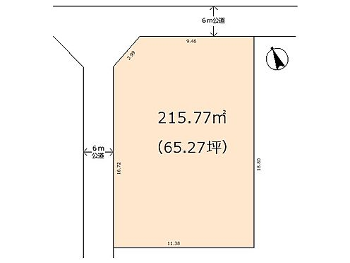 土地-熊谷市船木台1丁目 区画図