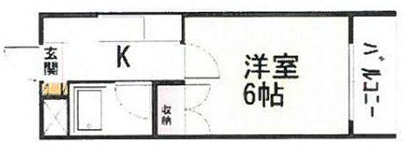 マンション(建物一部)-金沢市宝町 間取り