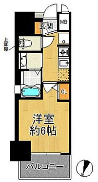 マンション(建物一部)-大阪市港区市岡元町1丁目 間取り