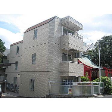 マンション(建物一部)-世田谷区砧6丁目 綺麗なタイル張りの外装です。