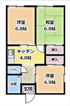 アパート-木更津市江川 間取り