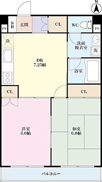 区分マンション-渋谷区笹塚1丁目 間取り