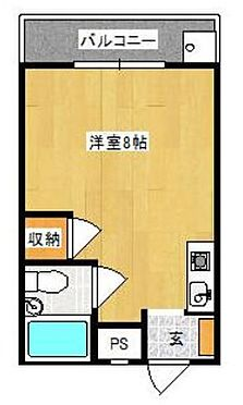 マンション(建物一部)-北九州市小倉北区大田町 間取り