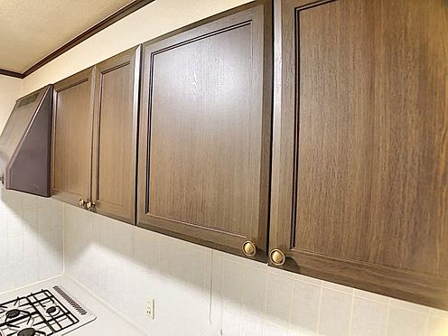 区分マンション-福岡市城南区別府6丁目 キッチン吊戸棚ございます。