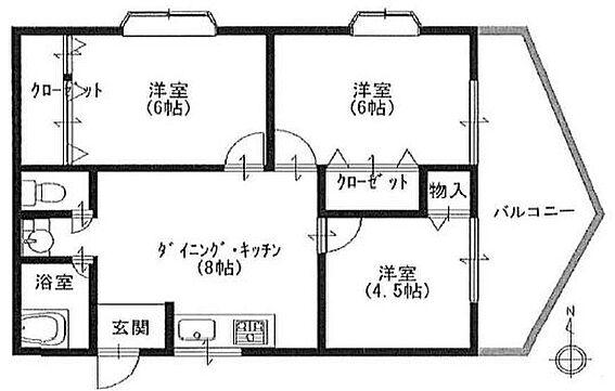 マンション(建物一部)-神戸市垂水区霞ケ丘7丁目 角部屋につき全室通風・日当り良好