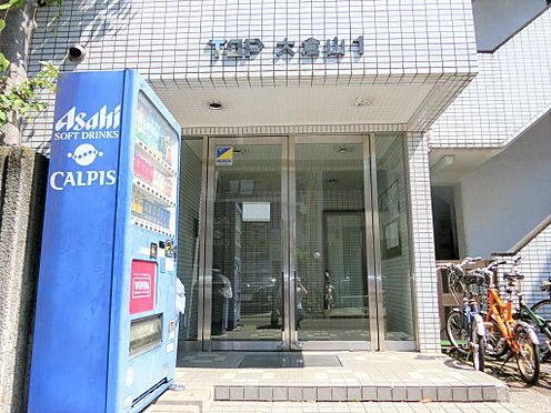 マンション(建物一部)-横浜市港北区大倉山4丁目 入口です。