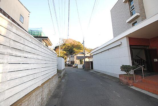 マンション(建物一部)-鎌倉市材木座6丁目 前面道路