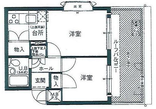 マンション(建物一部)-神戸市灘区灘北通7丁目 上部など随所に収納を設計したプラン
