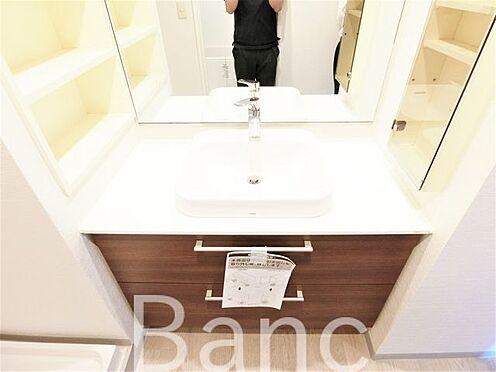 中古マンション-葛飾区立石8丁目 明るい洗面所です