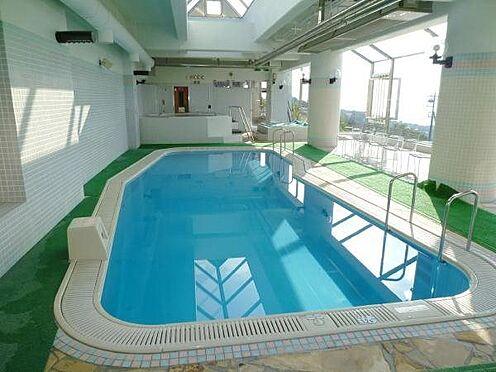 中古マンション-田方郡函南町平井 室内プール。こちらは夏季にご利用可能です。