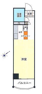 区分マンション-神戸市中央区布引町2丁目 間取り