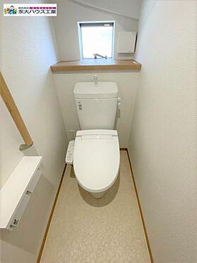 新築一戸建て-仙台市太白区四郎丸字渡道 トイレ