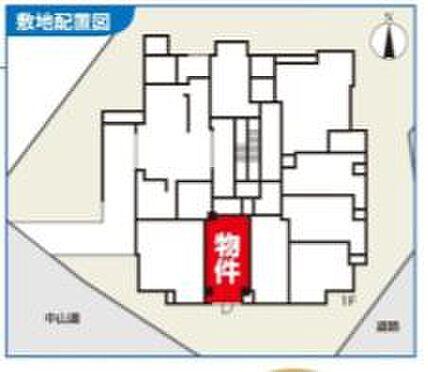 店舗事務所(建物一部)-板橋区板橋3丁目 区画図