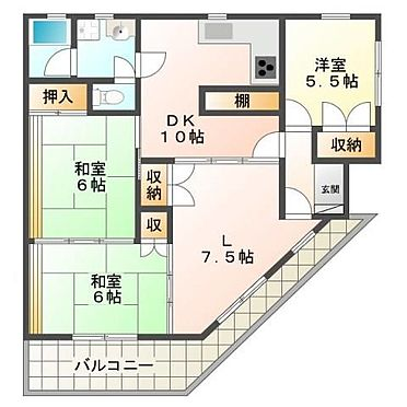 マンション(建物一部)-神戸市垂水区西舞子6丁目 間取り