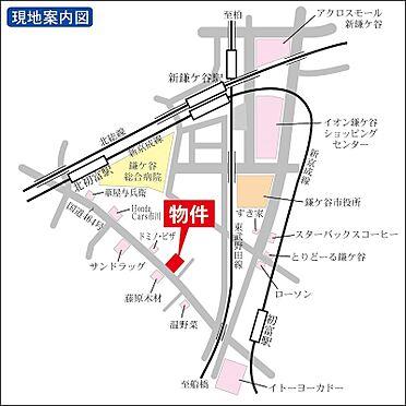 マンション(建物全部)-鎌ケ谷市初富本町1丁目 地図