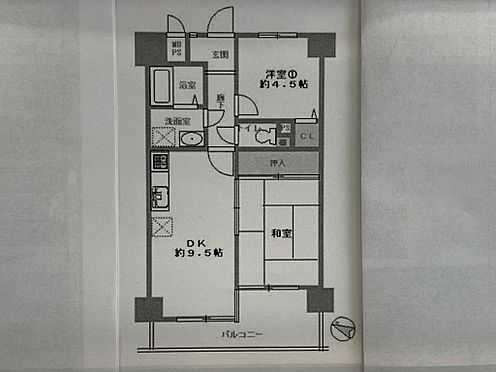 区分マンション-大阪市西区川口3丁目 図面より現況を優先します。