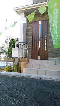 新築一戸建て-上尾市上町1丁目 玄関/メールボックス/TVモニター付きインターホン