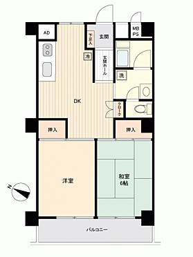 マンション(建物一部)-羽村市神明台2丁目 間取り
