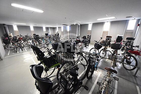 区分マンション-大阪市北区天神橋7丁目 ジオタワー天六 室内駐輪場