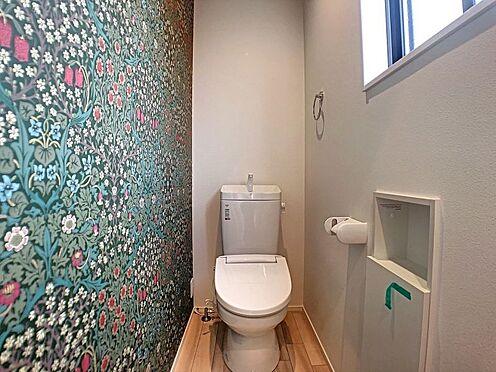 新築一戸建て-安城市城南町1丁目 トイレは2階にもあるのでとっても便利