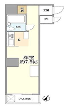 マンション(建物一部)-横浜市鶴見区鶴見中央3丁目 間取り