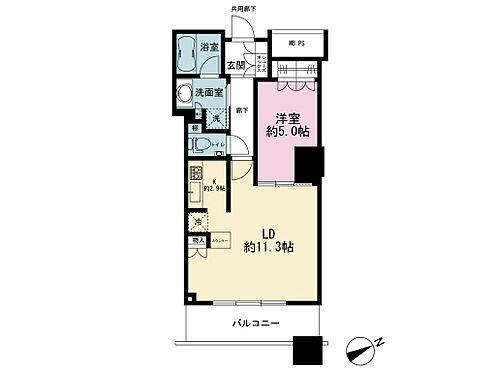 マンション(建物一部)-新宿区西新宿5丁目 間取り