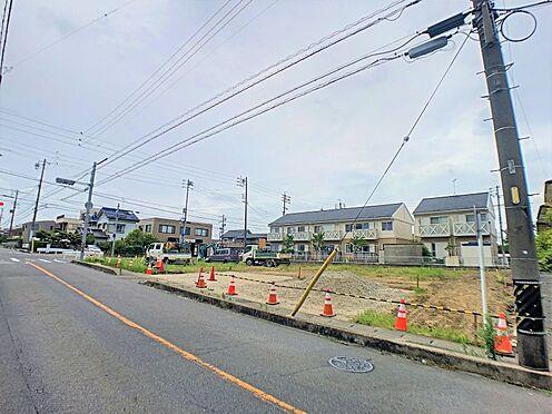 土地-西尾市戸ケ崎4丁目 静かな住宅街の一角に立地、落ち着いた佇まいです。