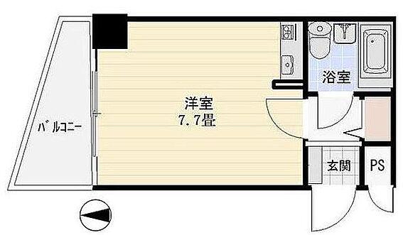 マンション(建物一部)-姫路市飾磨区三宅1丁目 間取り