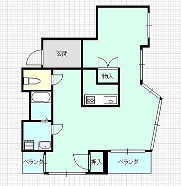 マンション(建物一部)-広島市中区国泰寺町2丁目 間取り