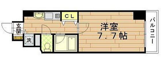 マンション(建物一部)-京都市下京区上柳町 間取り