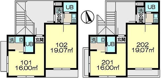 アパート-横浜市戸塚区平戸町 間取り