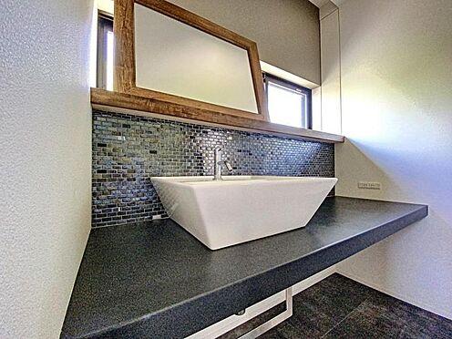 中古一戸建て-福岡市早良区梅林7丁目 おしゃれな洗面台です☆