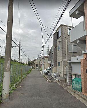アパート-横浜市港北区大曽根1丁目 前面道路