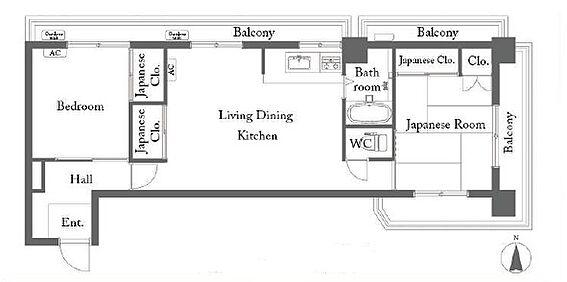 マンション(建物一部)-西東京市東町3丁目 間取り