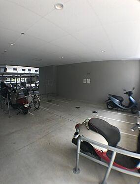 マンション(建物一部)-大阪市東淀川区東中島4丁目 バイク置場もあるので、通勤・通学も便利です。